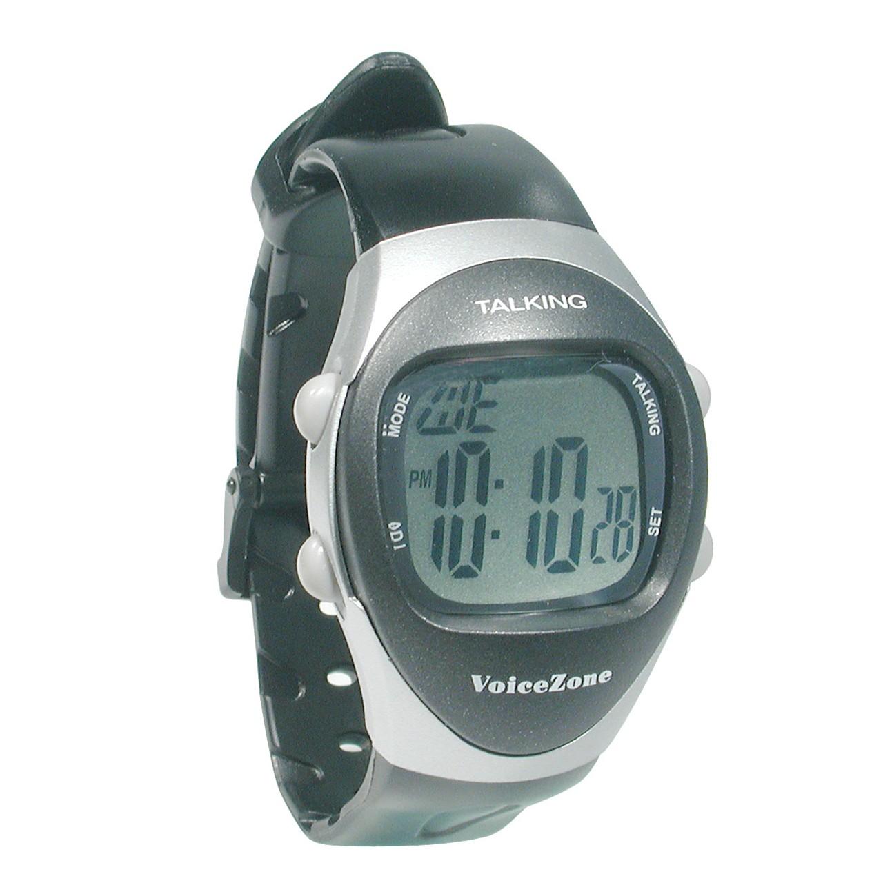 maxiaids mens talking 4 alarm medical watch mens talking 4 alarm medical watch