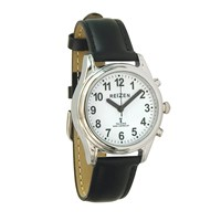 Talking Atomic Watch - Womens and Kids - Leather Band