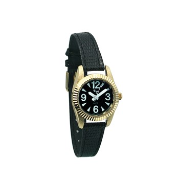 Tel-Time Low Vision Watch- Womens with Leather Band