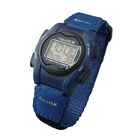 VibraLITE Mini Vibration Watch-Blue Hook-Loop Band
