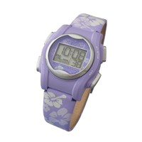 VibraLITE Mini Vibration Watch-Purple Flower Buckle Band