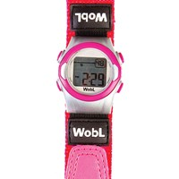 WobL 8-Alarm Vibrating Reminder Watch- Pink