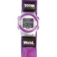 WobL 8-Alarm Vibrating Reminder Watch- Purple