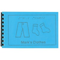 Childrens Braille Book - Clothes