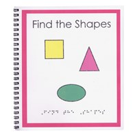Childrens Braille Book- Find the Shapes