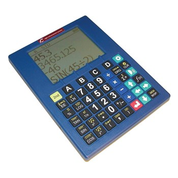 Low Vision Talking Scientific Calculator Sci-Plus Series 2300 - Blue