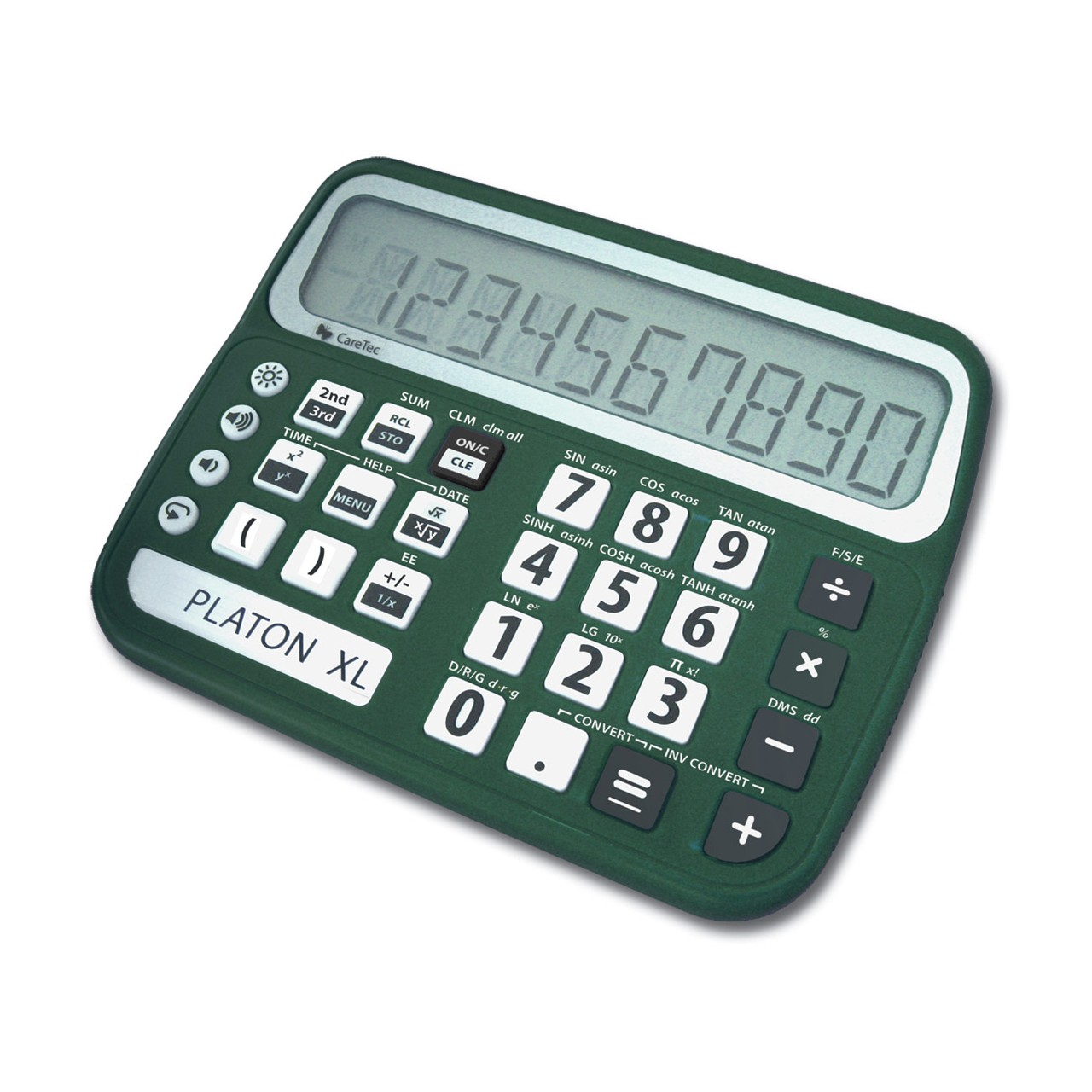 maxiaids platon xl talking low vision scientific calculator