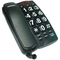Picture of REIZEN Big Button Speaker Phone - Black and White