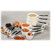 12 Piece Measuring Set with Cups and Spoons