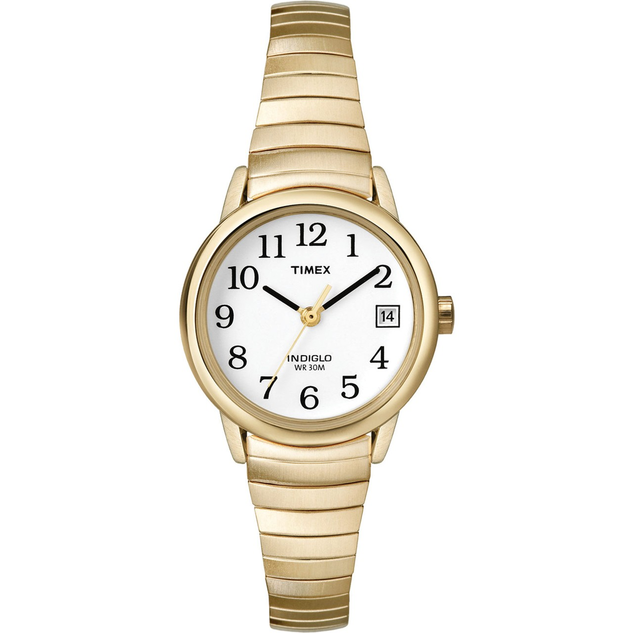MaxiAids | Timex Ladies Indiglo Watch - Exp. Band