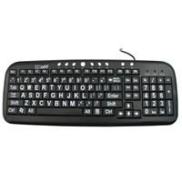 ba53a6dbcf0 MaxiAids | Large Print Keyboards | Low Vision Keyboard, Blind Keyboard