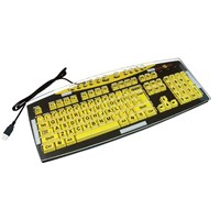 Keyguard for KeysUSee Large Print Keyboard