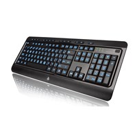 Large Print 3-Color Backlit Keyboard - USB