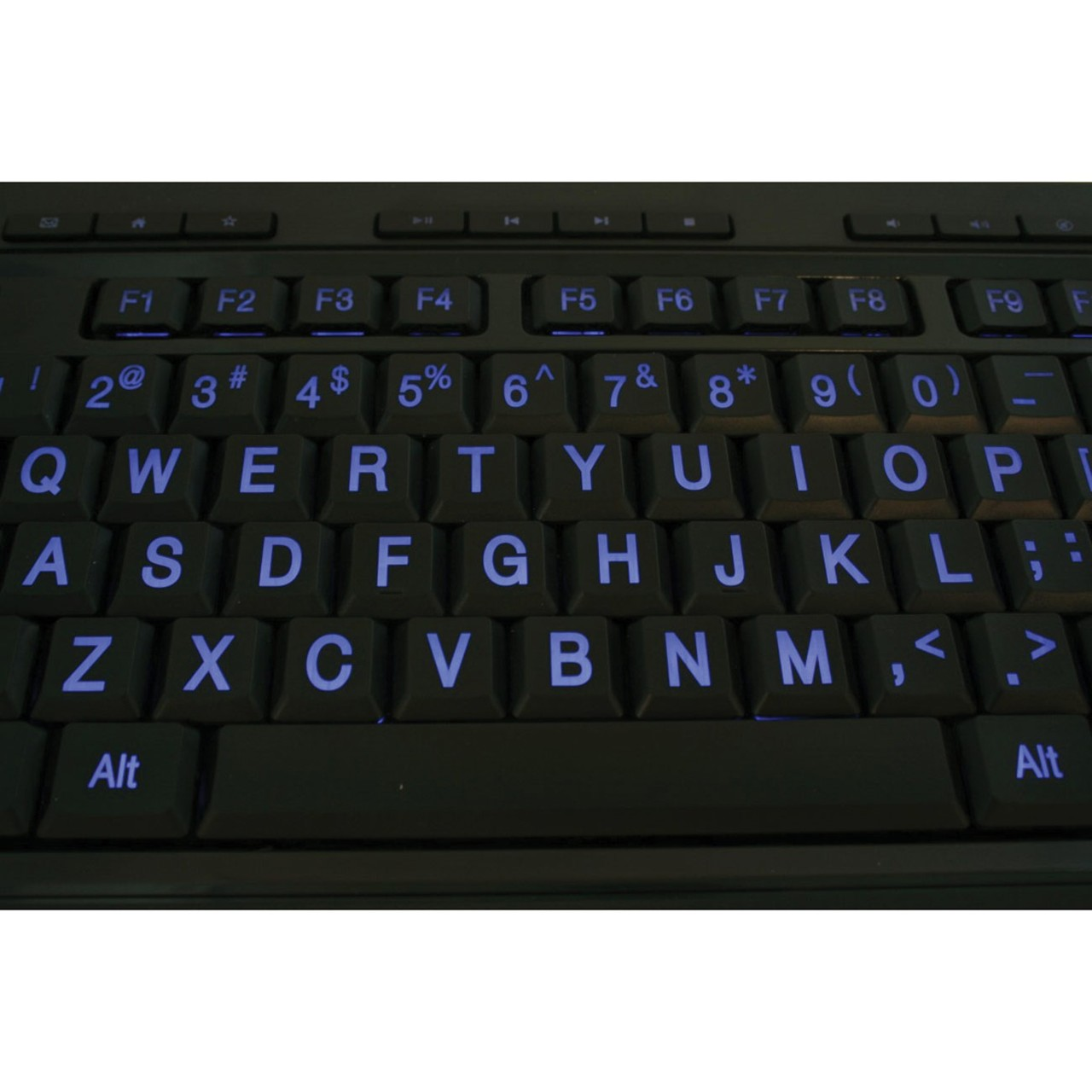 Maxiaids Large Print 3 Color Backlit Keyboard Usb