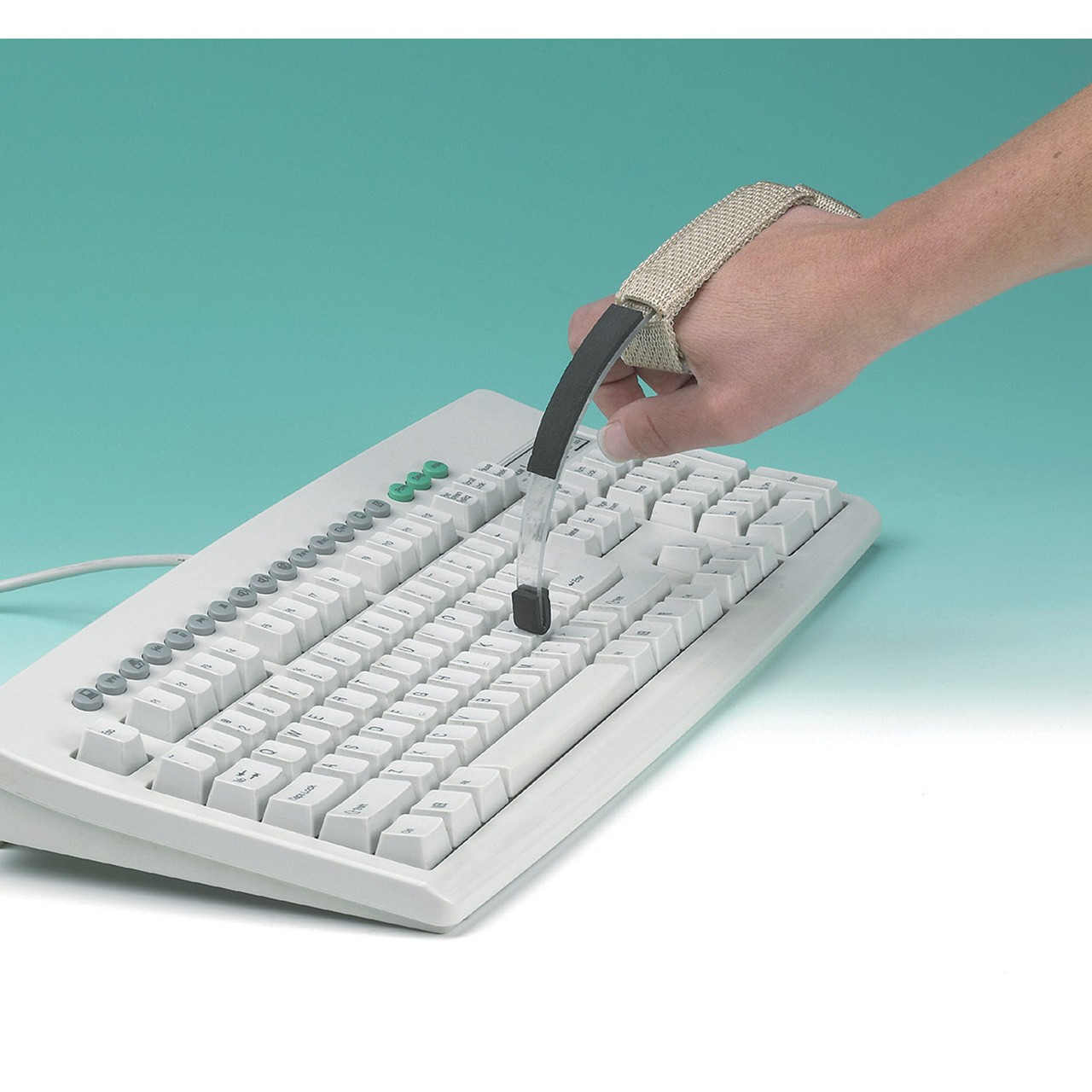 MaxiAids | Page Turner-Keyboard Aid with Wrist Cuff