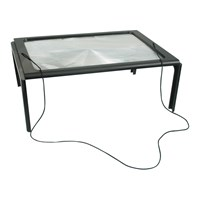 1.5x Full Sheet Magnifier with Folding Stand