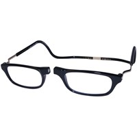 CliC Reading Glasses- Expandable - Black - 3.00