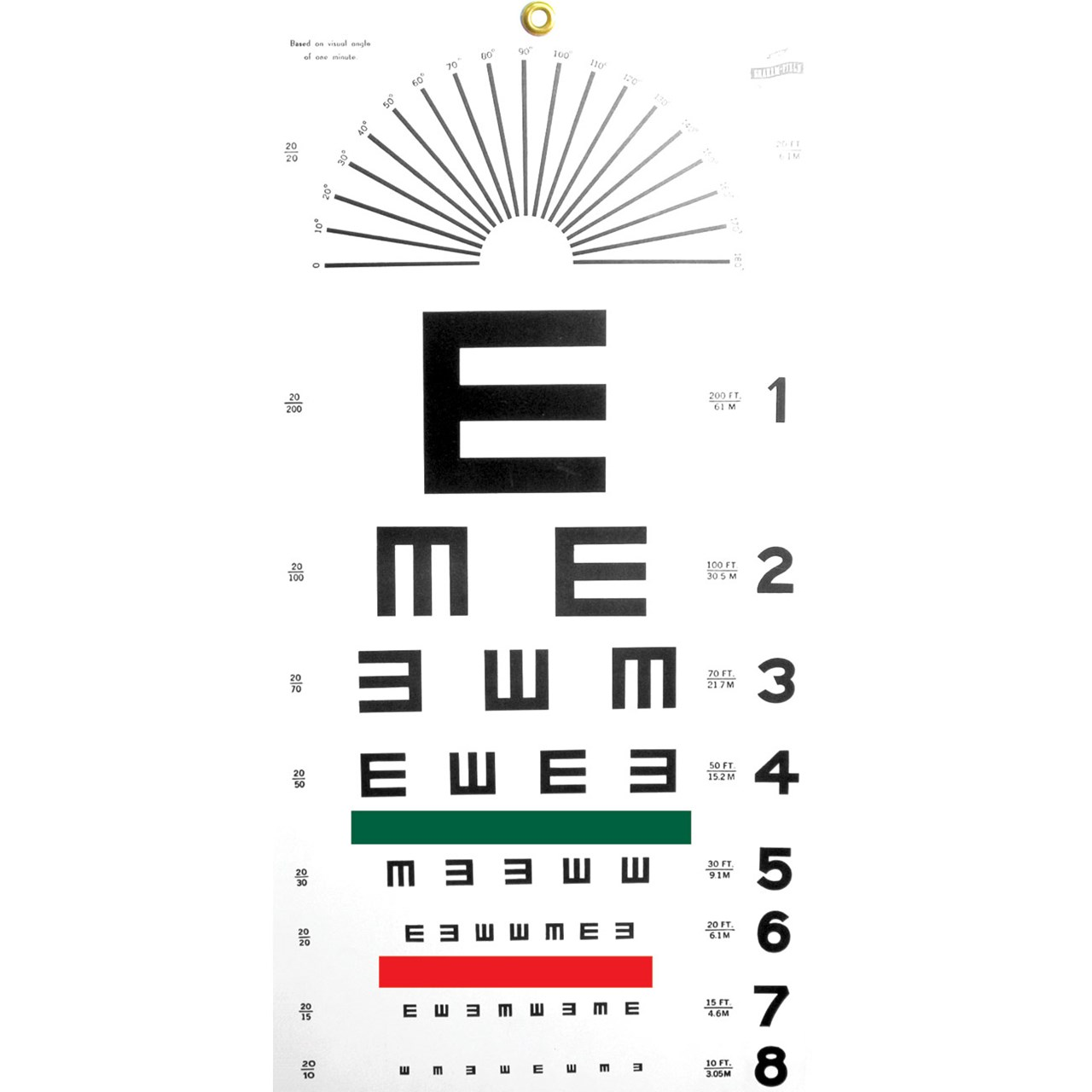 Maxiaids illiterate eye chart illiterate eye chart nvjuhfo Image collections