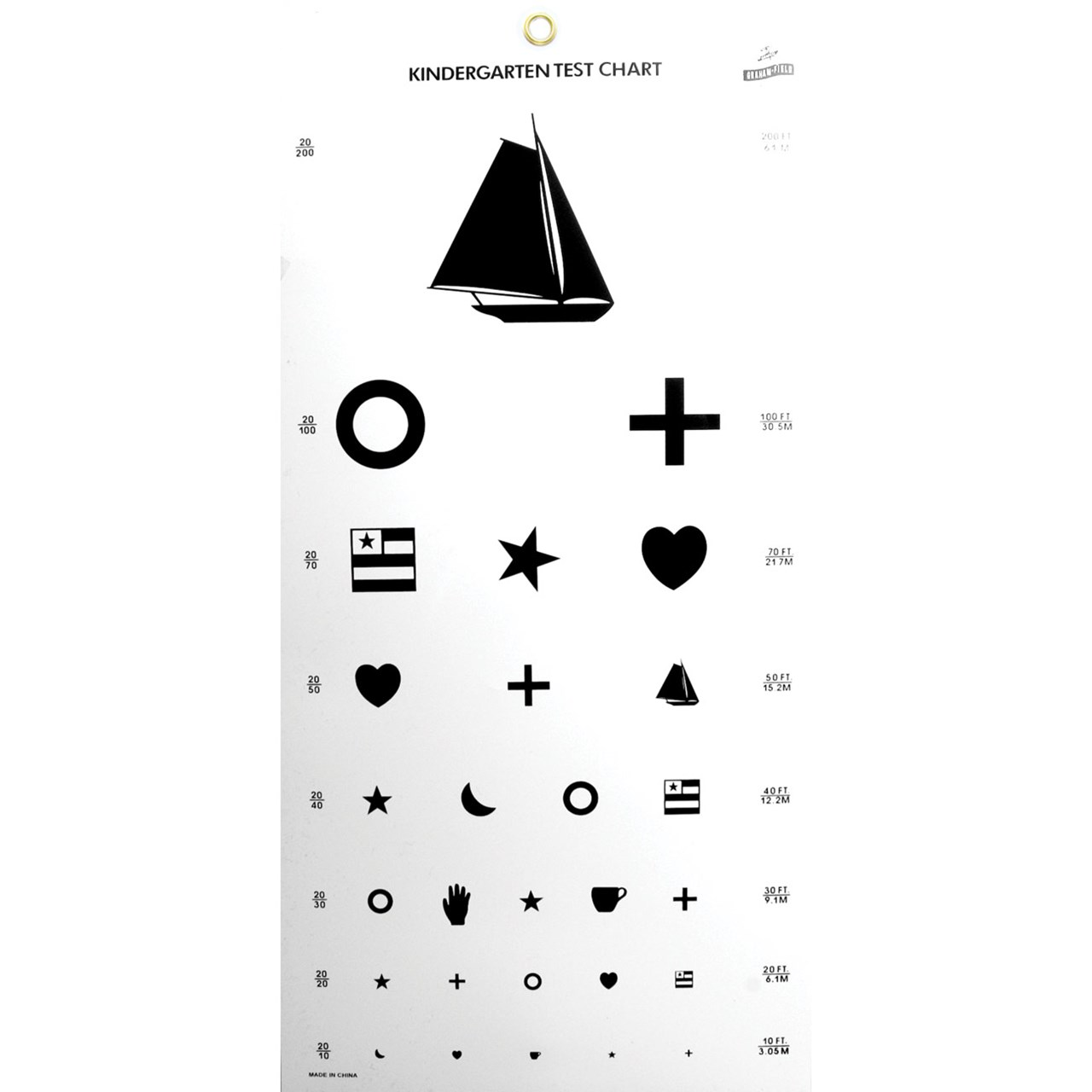 This is a picture of Versatile Printable Eye Tests