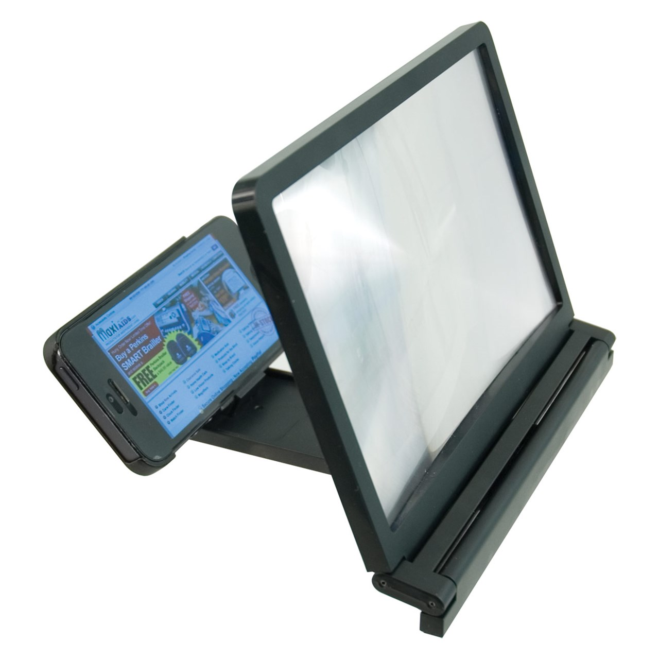 Maxiaids Portable Foldable Smartphone Screen Magnifier