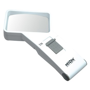 REIZEN 3.5x Illuminated Pocket Magnifier