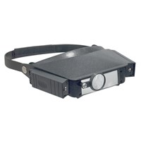 REIZEN Illuminated 2X- 5X Head Band Magnifier