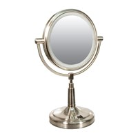 Zadro LED Lighted 5x-1x Vanity Mirror- Round