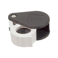 Zeiss Aplanatic-Achromatic Pocket Loupe- 40D -10x