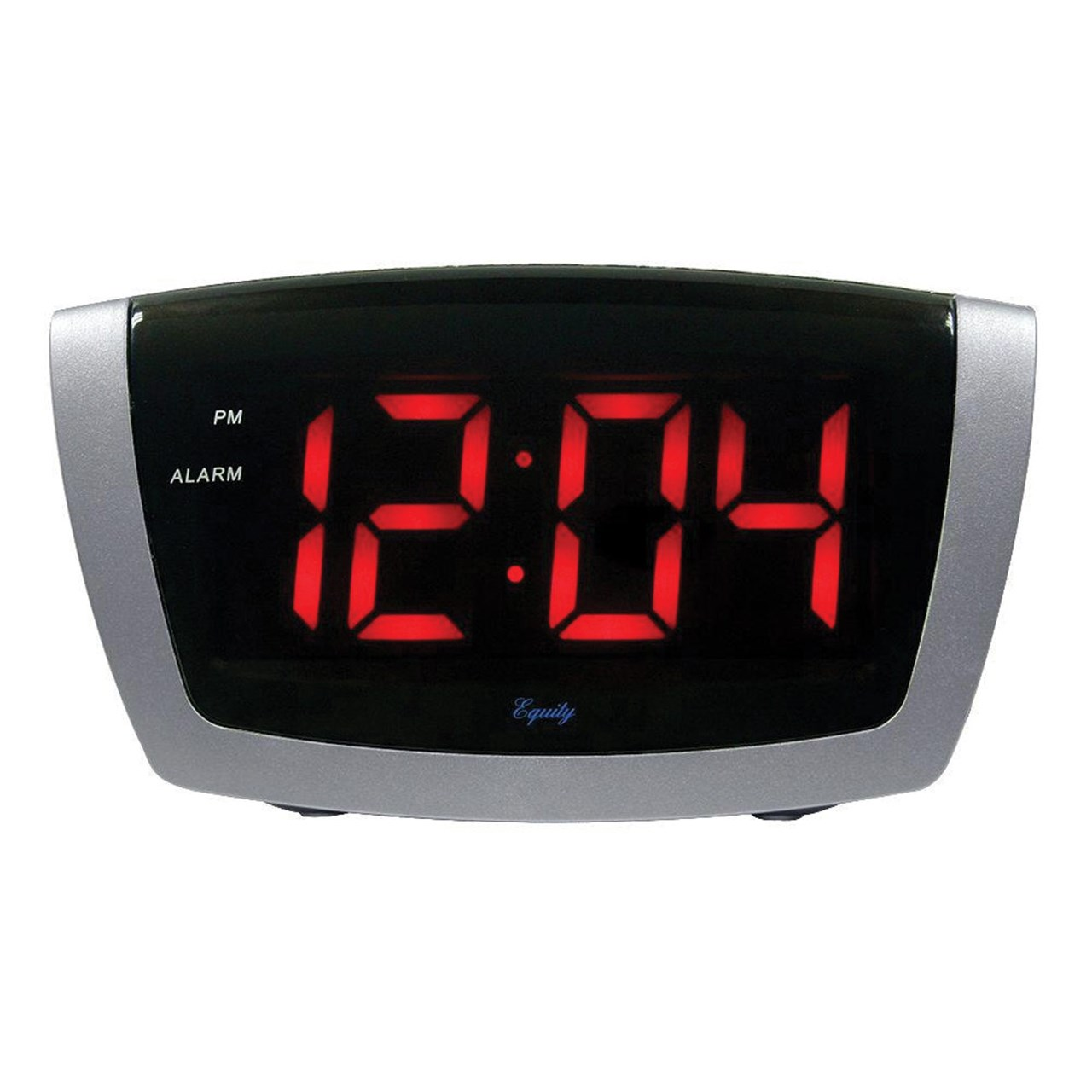 Maxiaids digital alarm clock with 1 8 inch jumbo led for Alarm clocks that work