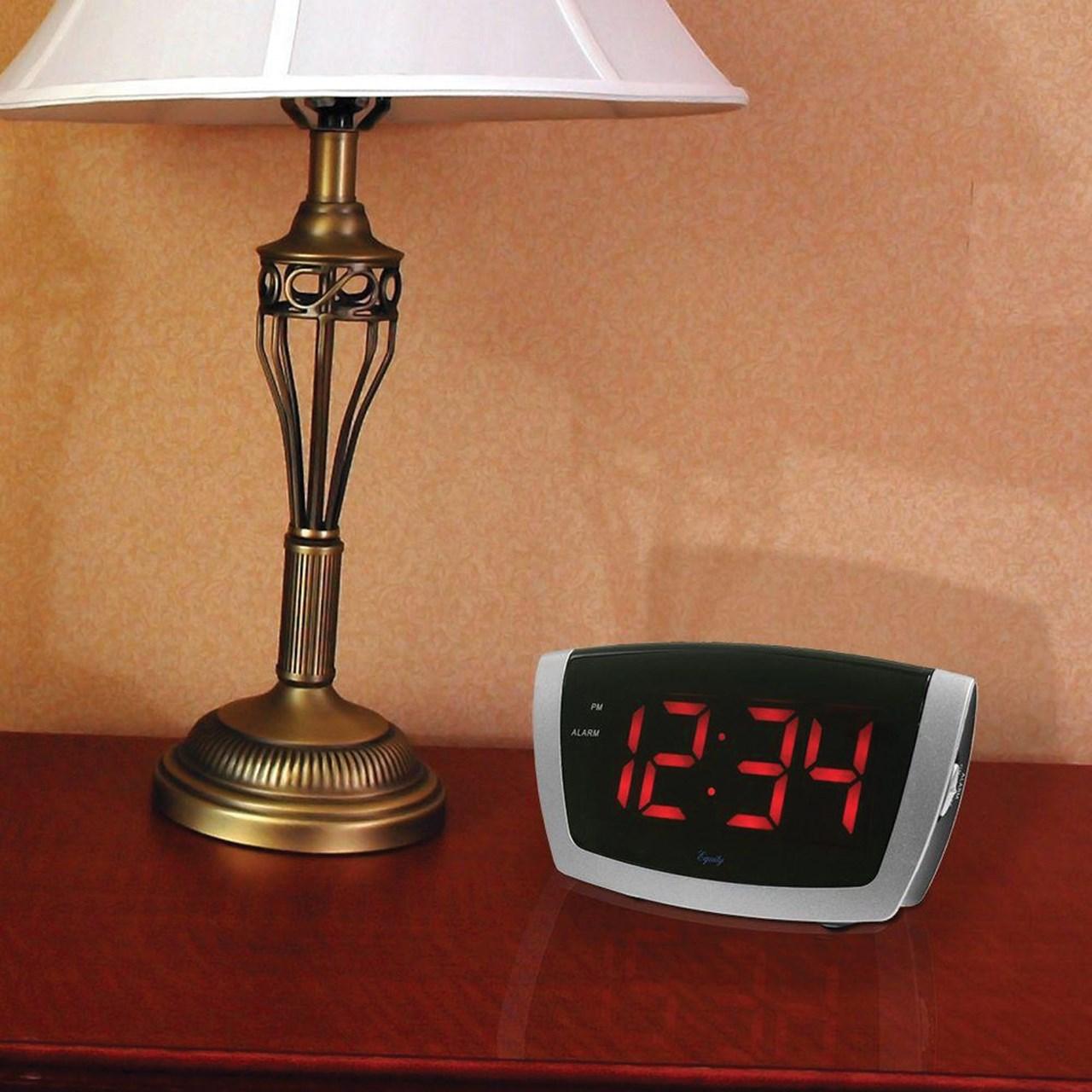 MaxiAids | Digital Alarm Clock with 1.8-inch Jumbo LED