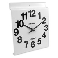 Giant View Low Vision Wall Clock - White Face