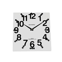 Giant-View Clock 10 x 10 in - Tactile