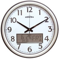 Low Vision Analog-LCD Wall Clock-Calendar-Thermom