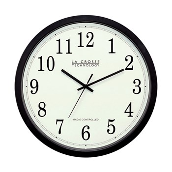 Low Vision Atomic Wall Clock - 14-inch