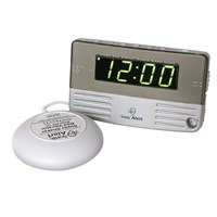 Sonic Alert -Travel Size Bedside Clock with Bed Shaker
