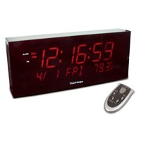 Super Large Digit Clock w-Calendar and Temperature