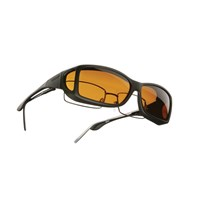 Cocoons Low Vision OveRx Eyewear Wideline ML Black-Hazelnut