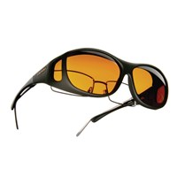 Cocoons Low Vision Slim Line M Sunglasses-Black-Hazelnut