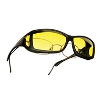 Cocoons Low Vision Wide Line ML Sunglasses-Black-Lemon