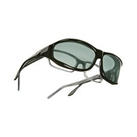 Vistana Polarized Sunwear - Black Frame with Gray Lens- Size Medium