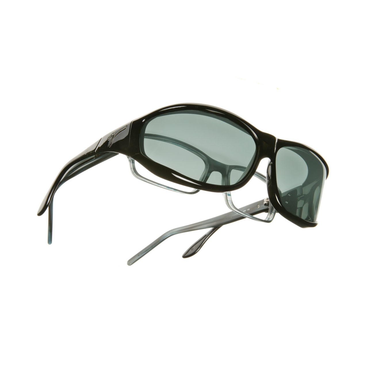 c38808e048a1 MaxiAids   Vistana Polarized Sunwear - Black Frame with Gray Lens ...