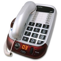 Picture of Alto Amplified 53dB Big Button Speakerphone - White