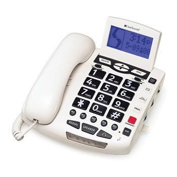 ClearSounds 50dB Amplified Speakerphone- White