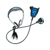 Hearing Impaired E-Scope II w-Standard Headphones