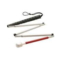 Ambutech 5-Sec Folding Graph Cane-Marsh Roller-58in
