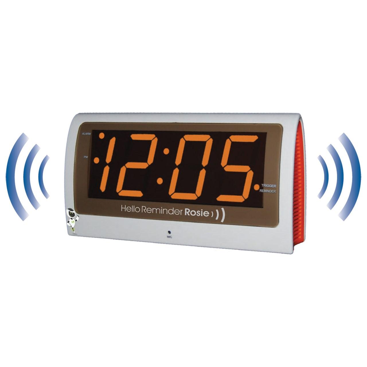 MaxiAids | Reminder Rosie Talking Alarm Clock with ...