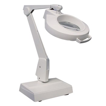 Dazor Weighted Base LED Magnifier - 5 Diopter