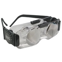 Coil 2X TV Spectacles - Ophthalmic Vision Hands-Free Binoculars - Tinted Lens