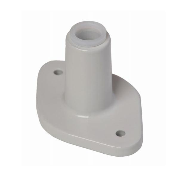C Surface Mount Bracket For Luxo Magnifier Lamp Grey