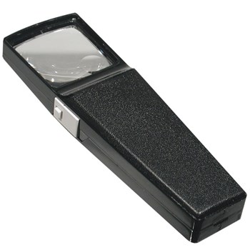 Illuminated 2X with 8X Bifocal insert Magnifier